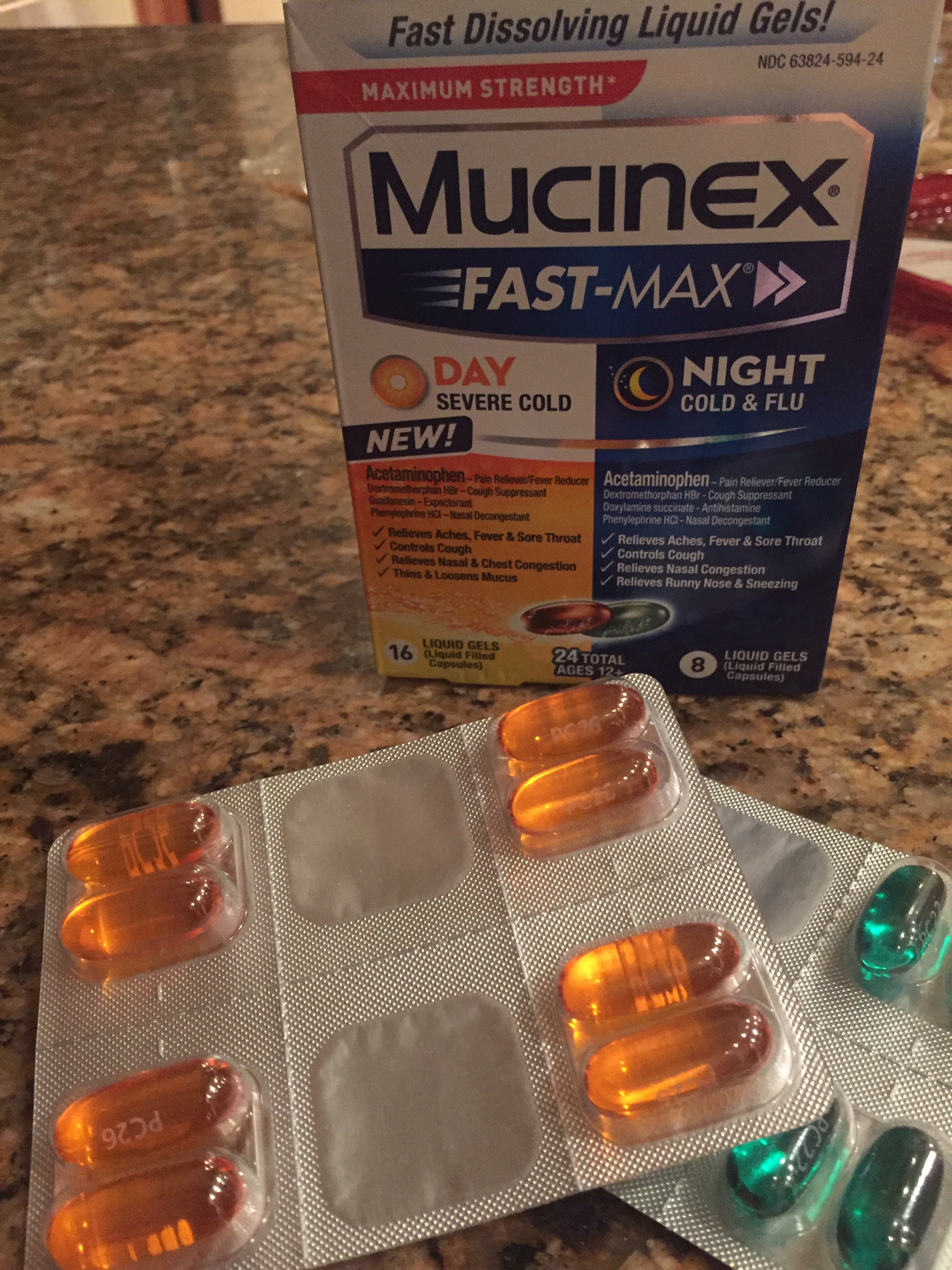 Getting Rid Of My Cold Fast With Mucinex Fast Max A Little Of